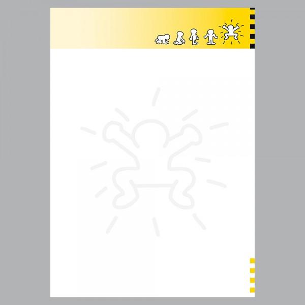 Briefpapier A4, Jump