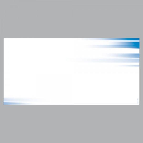 Gutscheine Farbspiel blau, DIN lang, 170 g/m²