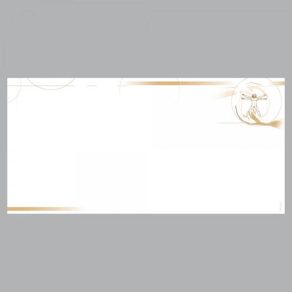 Gutscheine Leonardo braun, DIN lang, 170 g/m²