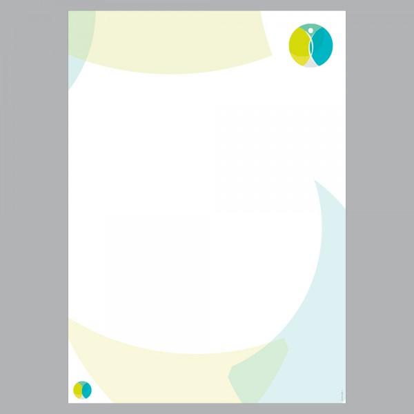 Briefpapier A4, Harmony