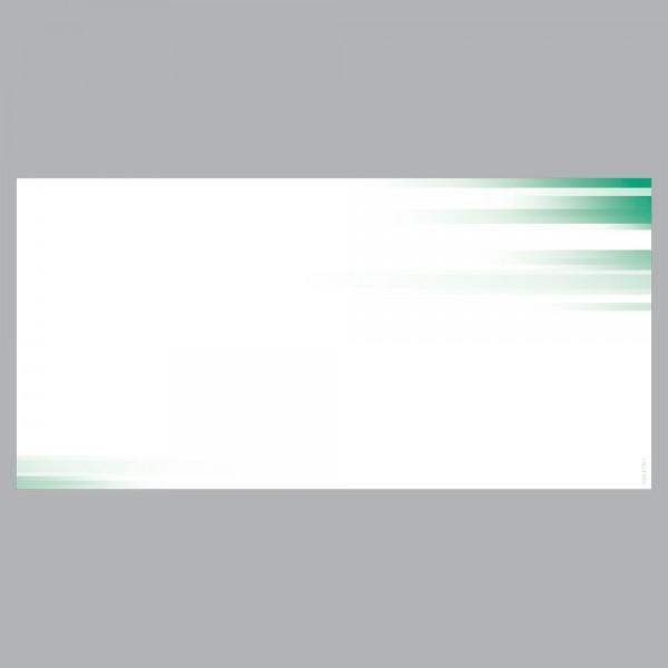 Gutscheine Farbspiel grün, DIN lang, 170 g/m²