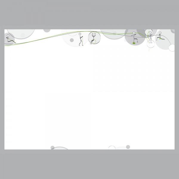 Flyer Move, A4 quer zum Falten, 100 g/m²