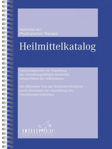 Heilmittelkatalog der physikalischen Therapie inkl. Podologie