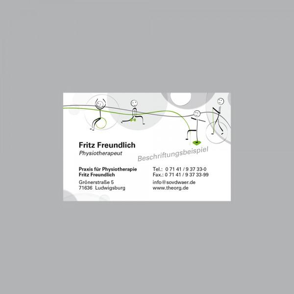 Visitenkarte Move, 250 Stk., inkl. individueller Druck