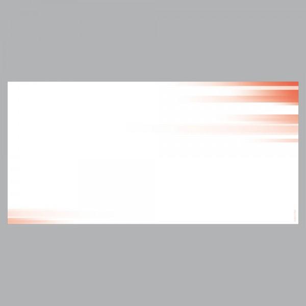 Gutscheine Farbspiel rot, DIN lang, 170 g/m²