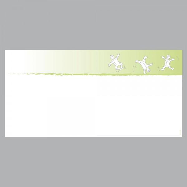 Gutscheine Active grün, DIN lang, 170 g/m²
