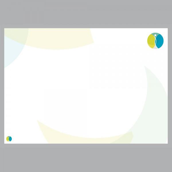 Flyer Harmony, A4 quer zum Falten, 100 g/m²