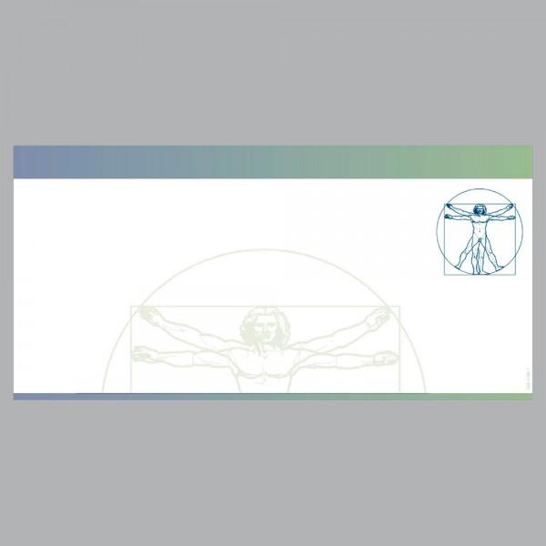 Gutscheine Leonardo blau, DIN lang, 170 g/m²