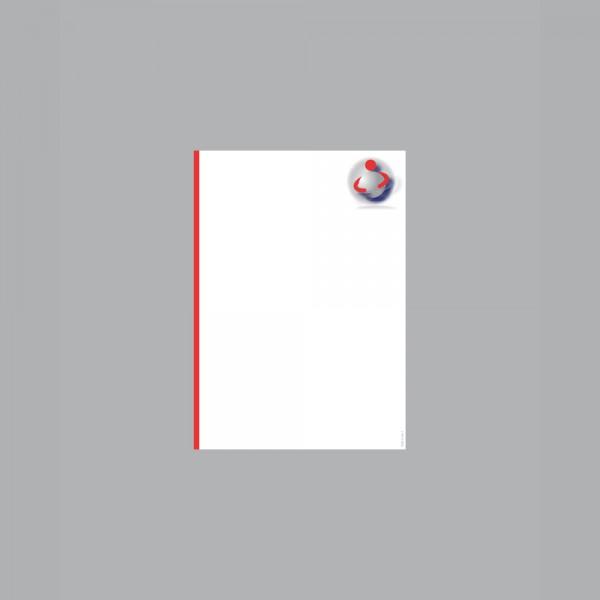 Zettel A6, Ball im Arm