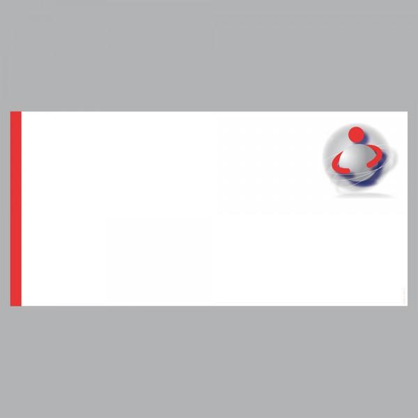 Gutscheine Ball im Arm, DIN lang, 170 g/m²