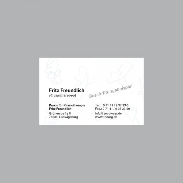 Visitenkarte Spinal, 250 Stk., inkl. individueller Druck